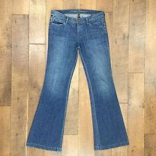 COH Citizens of Humanity Low Rise Flare Jeans Stretch Denim Size 29 / W34xL33.5