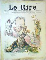 Le RIRE N° 328 du 16 Février 1901 - Le Général André