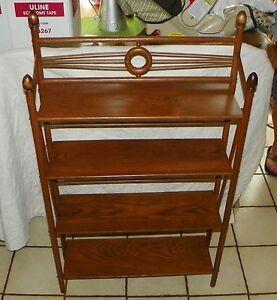 Oak 4 Tier Shelf  (SH10)