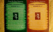 Vintage John Peterson's Songs - From the Very Beginning - Nos. 1 & 2