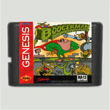 Boogerman A Pick And Flick Adventure 16 Bit Game Card For Sega Mega Drive & Sega