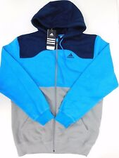 NEW MEN'S ADIDAS ORIGINALS SAMPLE FULL ZIP HOODIE SIZE US  M  O23700