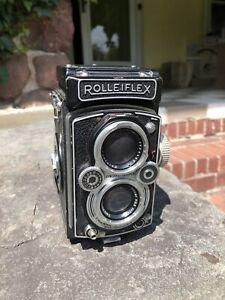 Rolleiflex 3.5B MX-EVS Zeiss Tessar