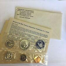 1965 Stati Uniti SPECIALE Nuovo di zecca Set 5 MONETE metà trimestre Dime Centesimo Nickel &