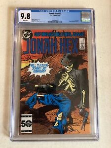 JONAH HEX #92 CGC 9.8 LAST ISSUE