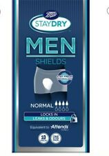 8x Boots Staydry Men Normal Shields One Size - 10 Shields
