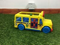 Playmates 1986 School Bus Vintage Retro