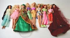 TEN Vtg. CLOTHED BARBIES FOR REPAINT OR RESTORE #1