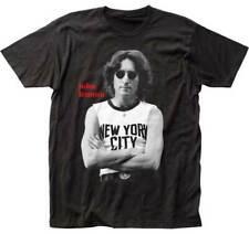 John Lennon Wearing A New York Shirt Adult T Shirt Rock & Pop Music