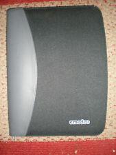 Emedco Blackgrey Leathercanvas Zipper Paper Organizer Portfolio Planner Folder