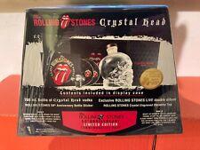 ROLLING STONES / CRYSTAL HEAD VODKA / 2 x CD LIVE ALBUM / LIMITED / OVP