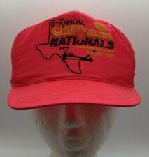 Vintage 1991 Chief Auto Parts Nationals NHRA Winston Drag Racing Snapback Hat