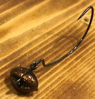 10pk 1/8oz Venom Money Maker Football Swing Jig( biffle head )3/0 Gamakatsu Hook