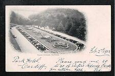 L@@K  Italian Gardens Saltburn Nr Redcar Nr Marske 1903 Postcard ~ EARLY CARD