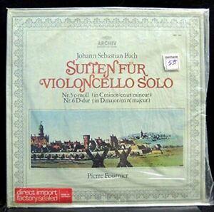 Pierre Fournier-Bach: Suites for Violoncello-Archiv Produktion 198 188 NM!