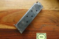 Colt 1911 1911A1 Magazine WWII Issue Scoville S Marked Good Capacity 7