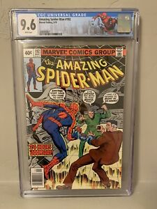 Marvel The Amazing Spider-Man #192 CGC 9.6 NM+ Death of Smythe NY City Label