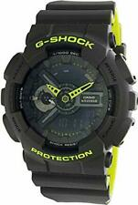 Casio GA-110LN-8A G-Shock Ana-Digital Black Dial black Resin Strap Men's Watch