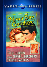 Never Say Goodbye 1956 (DVD) Rock Hudson, Cornell Borchers, George Sanders - New