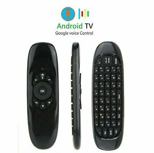 Voice Remote Google Control Air Mouse Bluetooth/USB for PC Android Smart TV Box