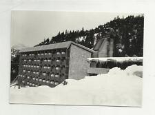 91716 FOTOGRAFIA FOTO ORIGINALE albergo boite hotel a borca