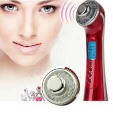 Photon 3Color 5 in1 Ultrasonic Galvanic Ion Skin Care Massager Beauty anti age