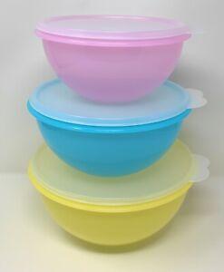 Tupperware Wonderlier Bowls Set Of 3 NEW
