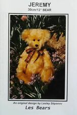 """Jeremy ~ A 12"""" bear pattern"""