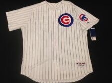 Authentic! Majestic, 60 4XL CHICAGO CUBS PINSTRIPE HOME, ON FIELD JERSEY