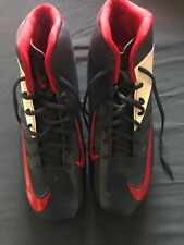 Red White & Blue Used Nike Cleats Size 13