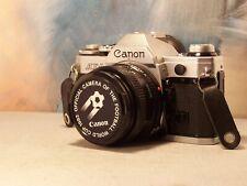 "canon AE-1 avec 50mm  F-D 1.8   "" film argentique """