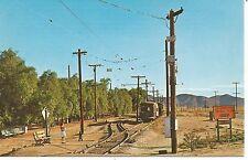 Perris CA Orange Empire Trolly Museum Streetcar Named Desire Postcard 1960s