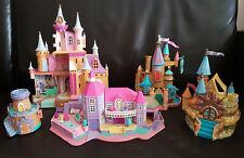 Lot Polly Pocket Magical Mansion 1994 StarCastle Cendrillon Disney Trendmasters