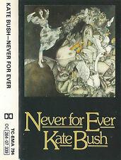 Kate Bush Never For Ever CASSETTE ALBUM EMI TC-EMA 794  0C 264-07 339