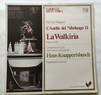 LA WALKIRIA RICHARD WAGNER LP HANS KNAPPERTSBUSCH VINYL ITALY 1981 NM/NM
