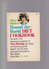 Myra Waldo's ROUND-THE-WORLD DIET COOKBOOK libro cucina dieta inglese