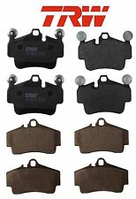 For Porsche Boxster 05-12 Cayman 2006-2012 Front & Rear Disc Brake Pads Kit TRW