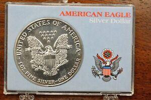1988 Walking Liberty American Eagle Silver Dollar 1oz Fine Silver Very Fine