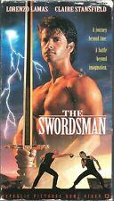 The Swordsman VHS 1995 Lorenzo Lamas Claire Stansfield Michael Champion VTG R