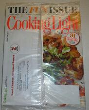 Cooking Light Magazine Slider Party & Chicken Legs July 2014 SEALED 011515R