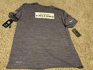 Nike 2020 Atlanta Falcons Sideline Velocity Dri Fit Shirt Men's Size: 2XL