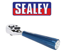 Sealey 1cm SQ DR Clé à cliquet réversible / Clé Levier intégré lumière LED