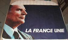 AFFICHE PRESIDENTIELLE 1988 SOCIALISTE FRANCOIS MITTERRAND