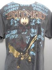 Batman Crime Fighter Gotham City defender protecter 2 sided T-Shirt sz M  L@@K!