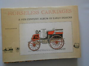 VINTAGE CARS: HORSELESS CARRIAGES: ALBUM OF EARLY DESIGNS: PRINT POTENTIAL