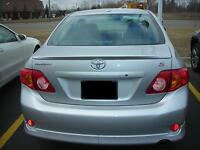 JSP Rear Wing Spoiler For 2009-2010 Toyota Corolla Primed Factory Style 368012