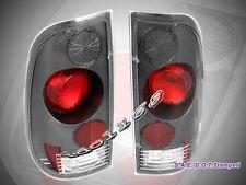 1999-2007 FORD F250 F350 F450 F550 TAIL LIGHTS CARBON FIBER SUPER DUTY BRAND NEW