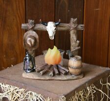 Campfire Tea Light Holder - Horse, Cowboy, Western, Rodeo Theme