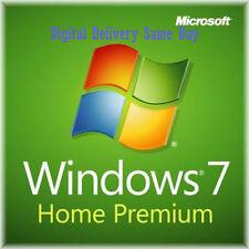 Scrap PC Windows 7 Echte Heimat 32 / 64-bit Kompletter Dell HP Lizenz Schlüssel