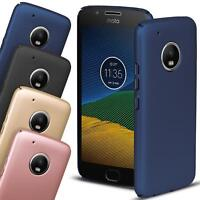 Hard Back Case Cover Motorola Moto E4 Thin Cover Slim Shockproof Rugged